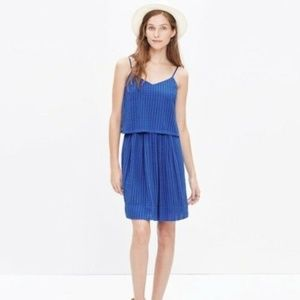 Madewell Skylight Overlay Eyelet Lace Dress